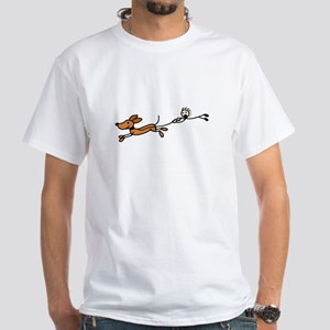 Funny Dog Walking Cartoon T-Shirt