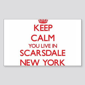 Keep calm you live in Scarsdale New York Sticker
