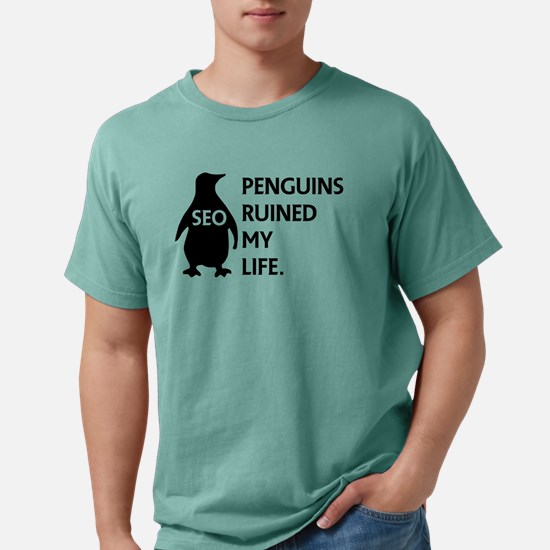 Penguins ruined my life. T-Shirt