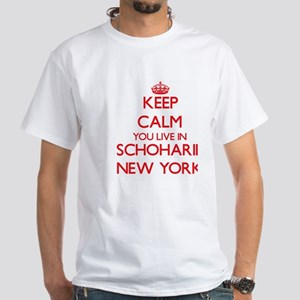 Keep calm you live in Schoharie New York T-Shirt