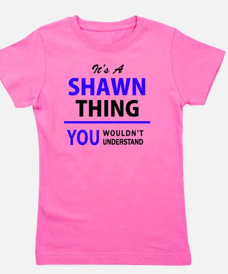 Unique Shawn Girl's Tee