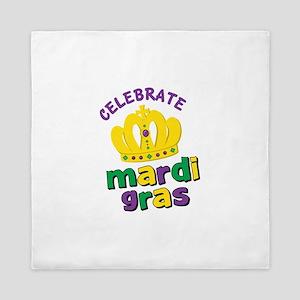 Celebrate Mardi Gras Queen Duvet