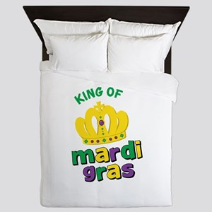 Mardi Gras King Queen Duvet