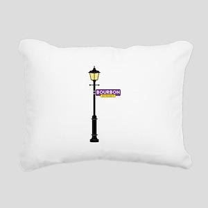 Bourbon Street Rectangular Canvas Pillow