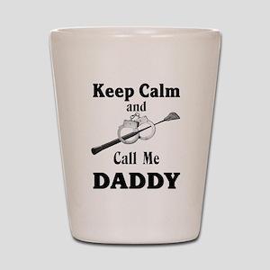 Keep Calm Call Me Daddy Shot Glass