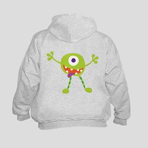 Crazy Alien Kids Hoodie