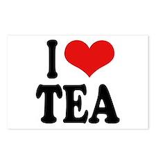 I Love Tea Postcards (Package of 8)