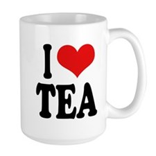 I Love Tea Large Mug