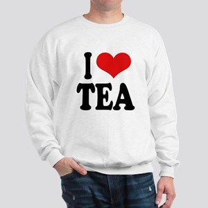 I Love Tea Sweatshirt