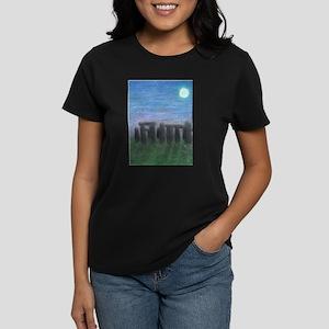 Stonehenge in Moonlight Ash Grey T-Shirt