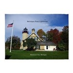 Mcgulpin Point Lighthouse 5'x7'area Rug