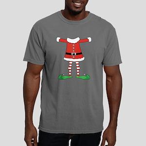 Santa Elf Costume Mens Comfort Colors Shirt