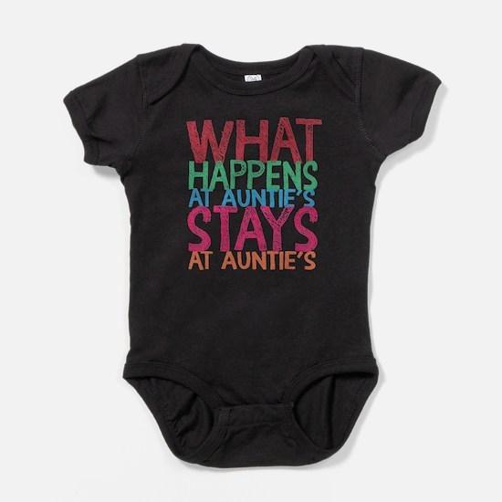 What Happens At Auntie's Baby Bodysuit
