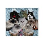 Beautiful Kitties Throw Blanket