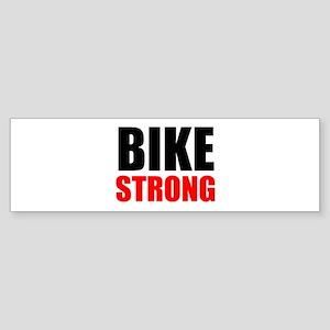 Bike Strong Bumper Sticker