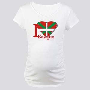 I love Basque Maternity T-Shirt