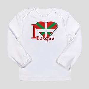I love Basque Long Sleeve Infant T-Shirt