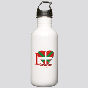I love Basque Stainless Water Bottle 1.0L