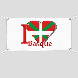 I love Basque Banner
