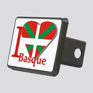 I love Basque Rectangular Hitch Cover