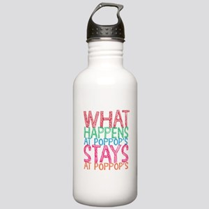 What Happens Poppop's Stainless Water Bottle 1.0L