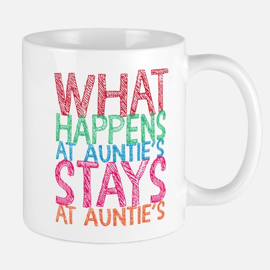 What Happens At Auntie's Mugs