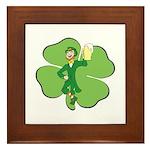Irishman Framed Tile