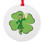 Irishman Ornament