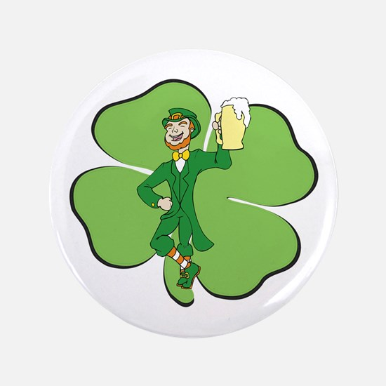 "Irishman 3.5"" Button"