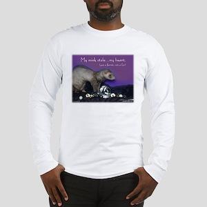 Ferret Fur Long Sleeve T-Shirt
