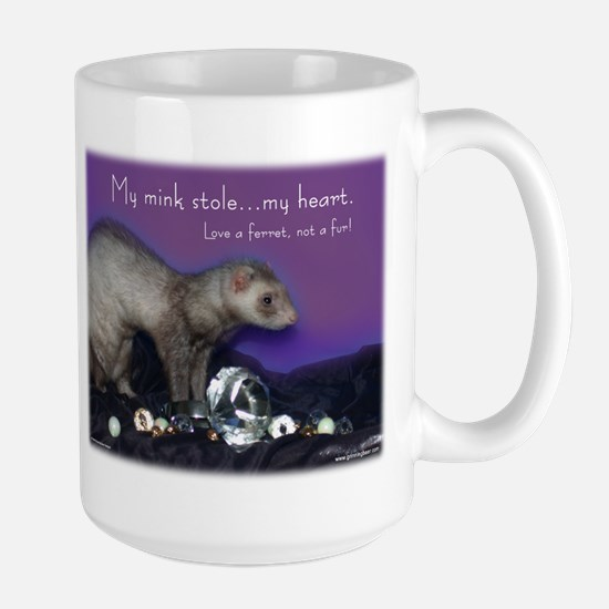 Ferret Fur Large Mug