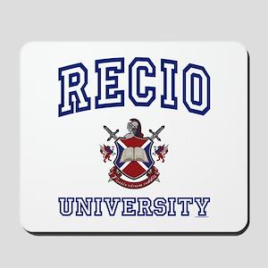 RECIO University Mousepad