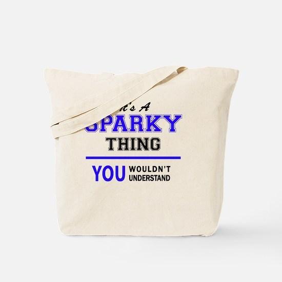 Unique Sparky Tote Bag