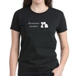 Romance Junkie Women's Dark T-Shirt