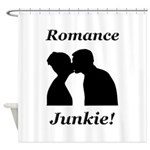 Romance Junkie Shower Curtain
