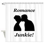 Romance Junkie Shower Curtain