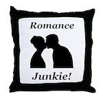 Romance Junkie Throw Pillow