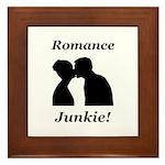 Romance Junkie Framed Tile