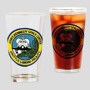 Shuttle Landing Facility Drinking Glass