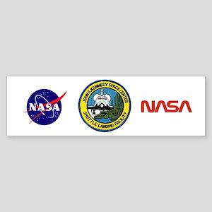 Shuttle Landing Facility Sticker (Bumper)