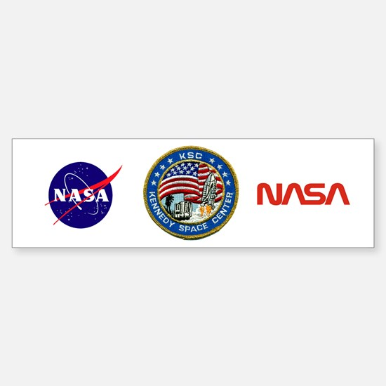 Kennedy Space Center Sticker (Bumper)