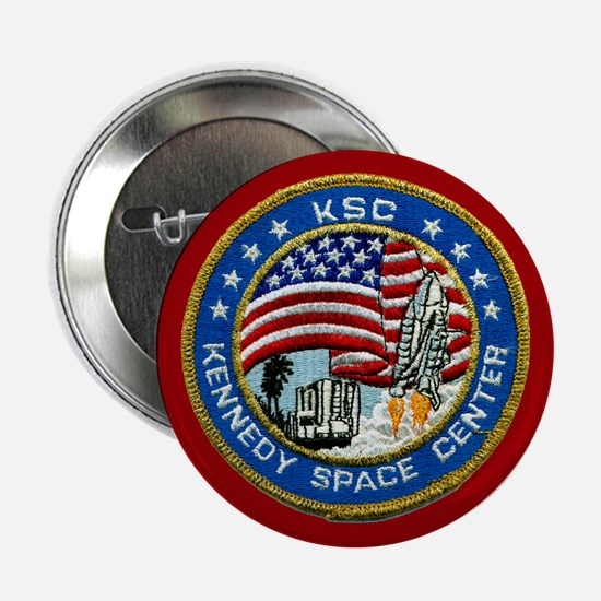 "Kennedy Space Center 2.25"" Button"