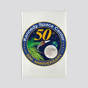 KSC At 50! Rectangle Magnet