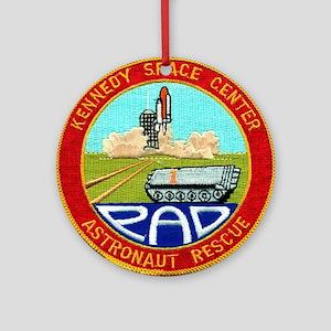 Pad Rescue Team Ornament (Round)