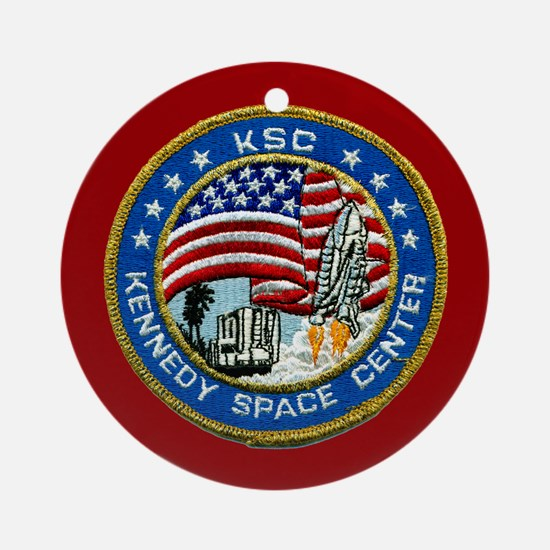 Kennedy Space Center Ornament (Round)
