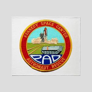 Pad Rescue Team Throw Blanket