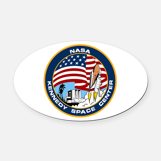 Kennedy Space Center Oval Car Magnet