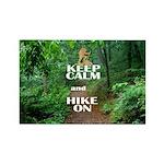 Keep Calm and Hike On Magnets