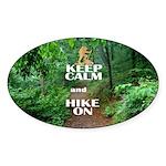 Keep Calm and Hike On Sticker