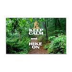 Keep Calm and Hike On Wall Decal